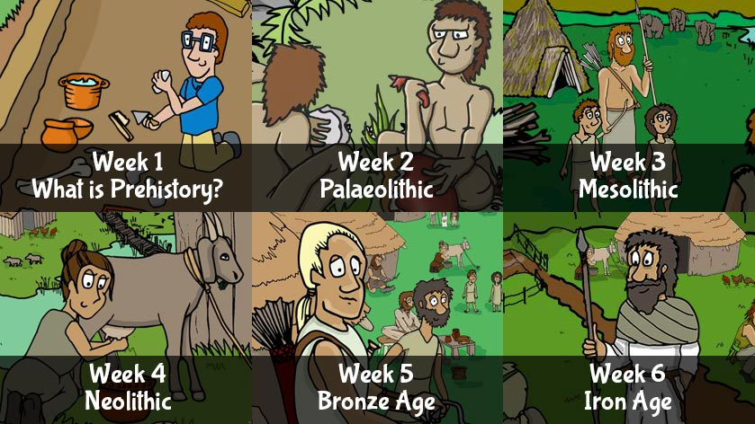 Stone Age six week topic package
